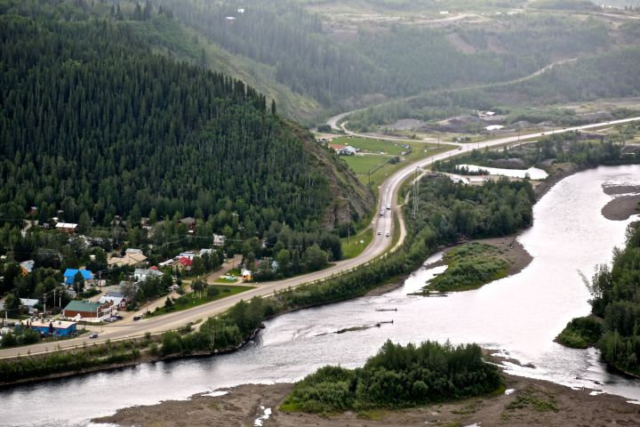 Photo: Entry to Dawson City , Yukon | Photo: Gurdeep Pandher