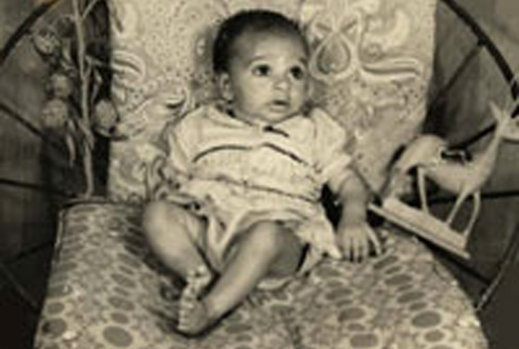 My first photo | I think I was 2 months old | After my birth, my mom became very sick and she had to spend a year in the hospital in a critical condition without a chance to survive while I was brought to the home from the hospital by my dad, aunties and other relatives | My 3 older sisters had to play role of mothers to me while my mother was recovering in the hospital bed. It was a miracle that my mom came home after spending a year in the hospital while doctors were saying she would not survive.