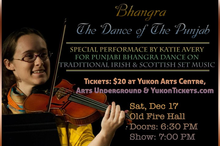 Katie Avery in Bhangra – The Dance of the Punjab