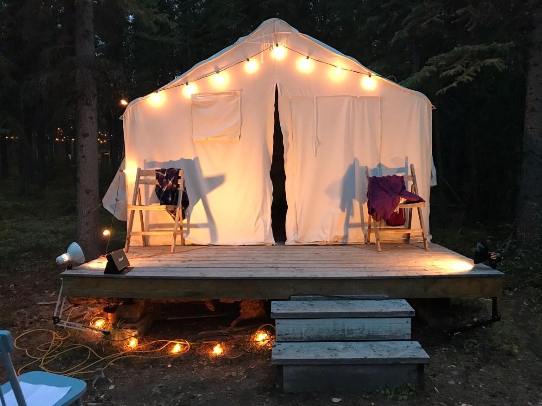 Theatre in the Bush Wall Tent