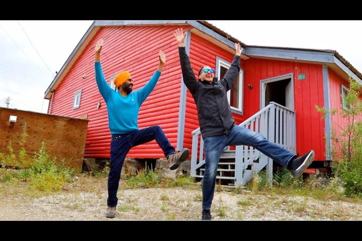 Bhangra in Old Crow (Yukon) by Chief Dana Tizya-Tramm and Gurdeep Pandher