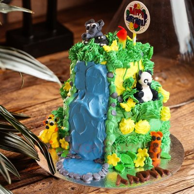 call of the wild kids cake