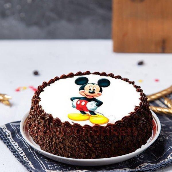 chocolate mickey cake