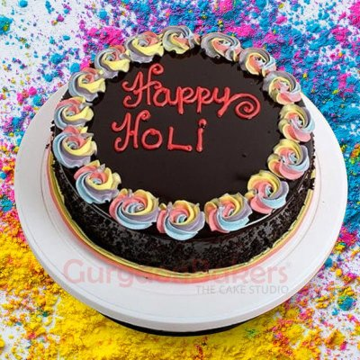 chocolatey holi treat