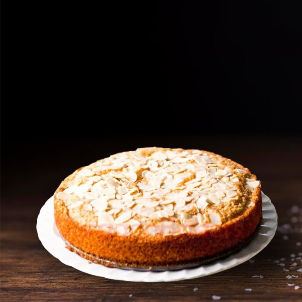 honey almond tea cake
