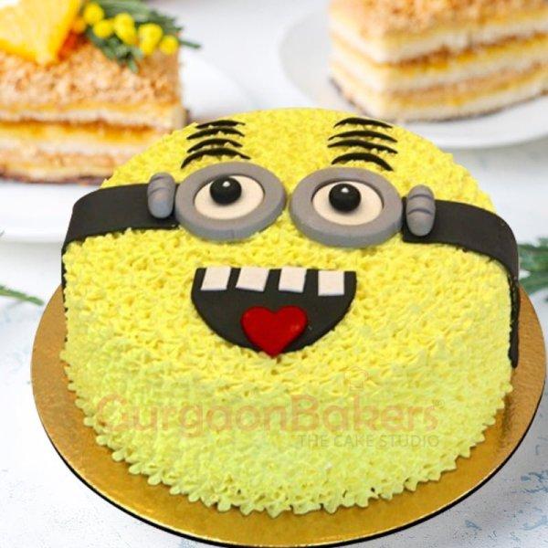 minion mania cake