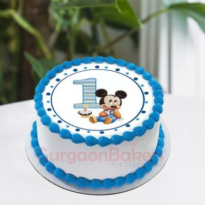 one derful mickey cake