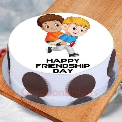 photo cake for friendship day