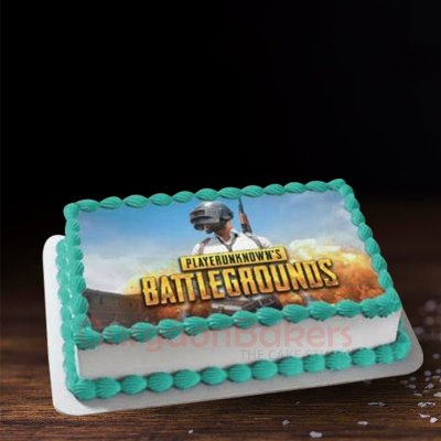 pubg battlegrounds cake