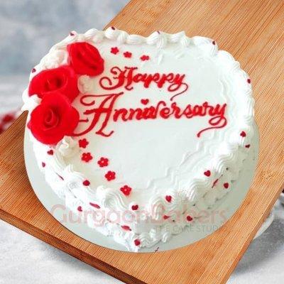 shining start anniversary cake