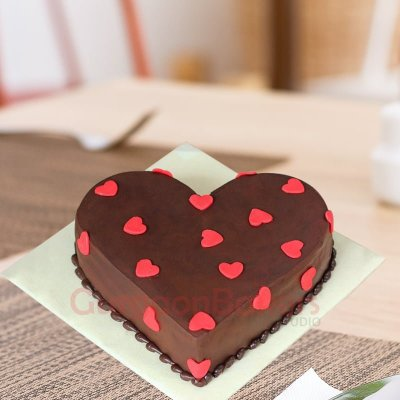special chocolate cake with love