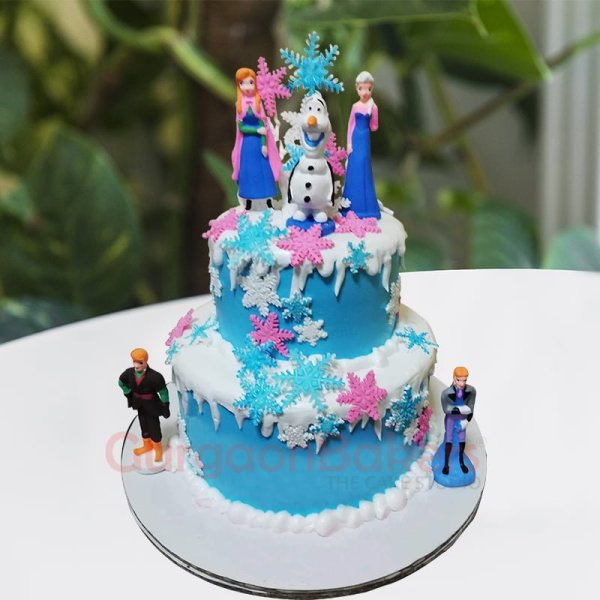 spectacular frozen cake