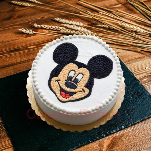 vintage mickey cake