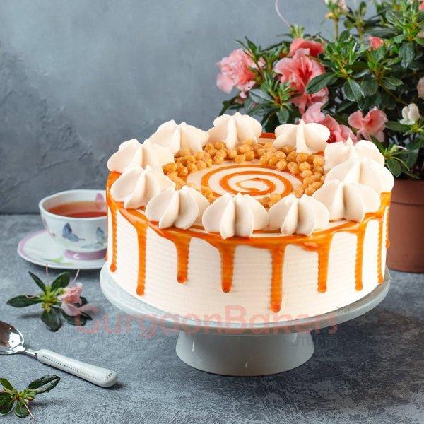 yummy butterscotch cake