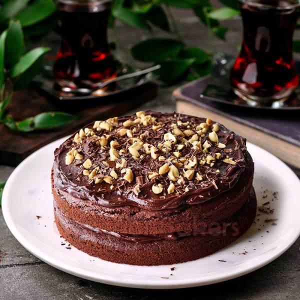 nutella hazelnut cake