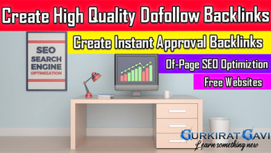 Photo of Create High Quality Instant Approval Dofollow Backlinks | Free Dofollow Backlinks Websites