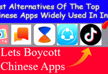 Photo of Best Alternatives Of The Chinese Apps Widely Used In India
