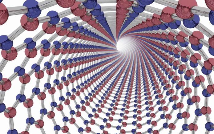 Super Material Boron Nitride Nanotubes