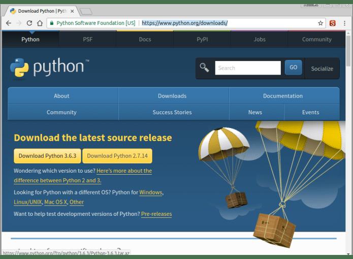 Python 3.6.3