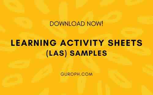 small resolution of Learning Activity Sheets (LAS) Samples (Download Now!)