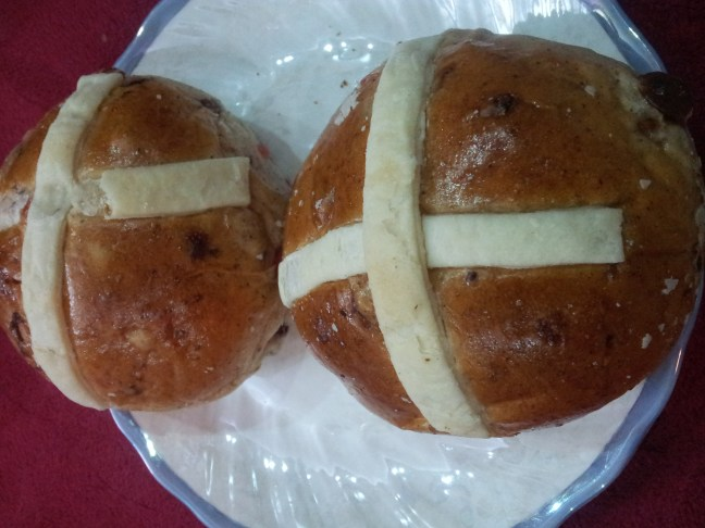 Hot Cross Buns for Easter!
