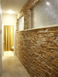 Stacked Stone Interior Wall | www.pixshark.com - Images ...