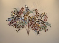 October Metal Wall Art - Metal Wall Sculpture and Decor ...