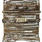 Weinregal Vintage Look Weinragal Weinbox Modell 4 38x31x13 Cm