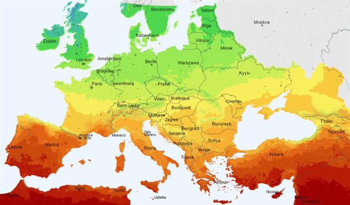 Sun Shine in Europe