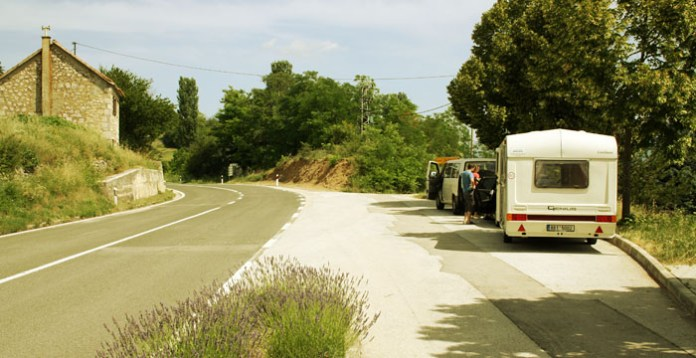 Road in Croatia