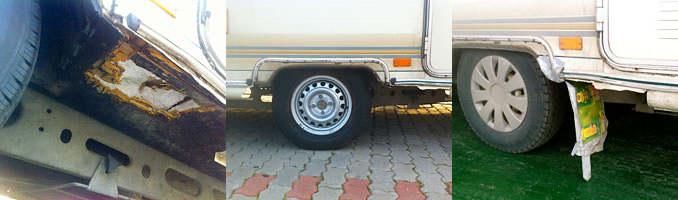 Flat Tire in Bulgary