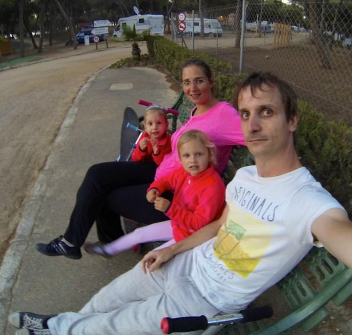 The Caravan Family in Spain 2015