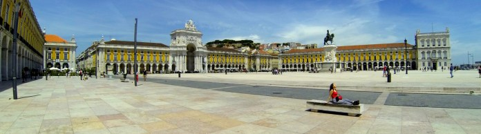Peaceful spring in Lisbon, Portugal