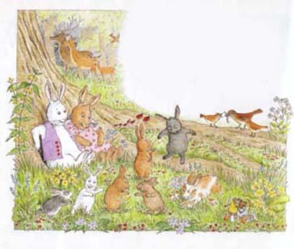 アメリカの #絵本 うさぎのだいじなみつけもの~The Bunny Who Found Easter~|自然の恩恵を感じながら生きる著者の生き方が詰まった作品