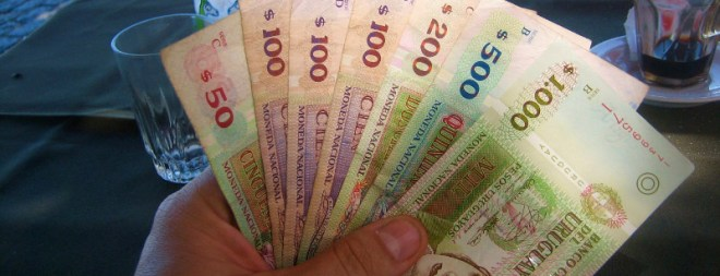 Withdrawing money from ATMs in Uruguay. uruguay cash withdrawal