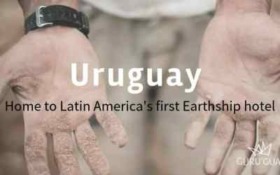 Latin America's first Earthship hotel under construction in Uruguay