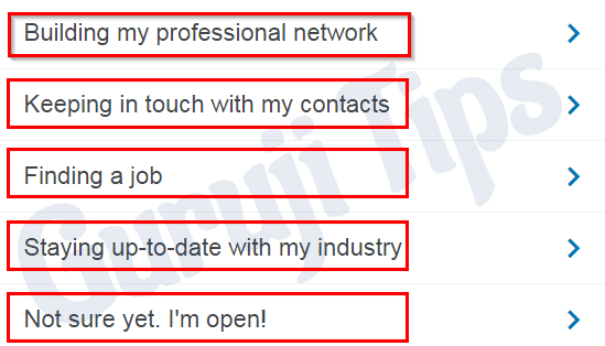 Personalize LinkedIn