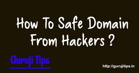Domain Safety Tips