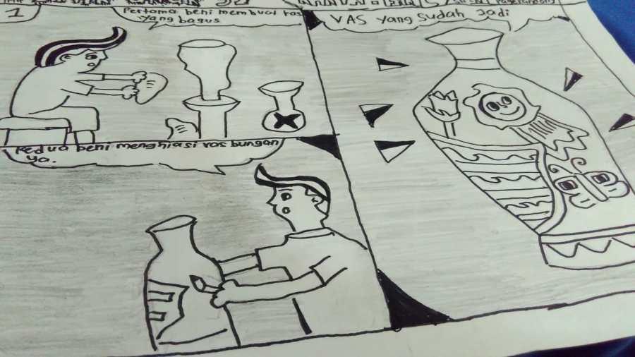 Membuat Komik Tugas Kelas V - Tema 1 Sub Tema 3 Pembelajaran Ke 2