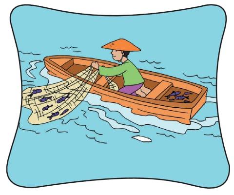 Nelayan dan Ikan Mas