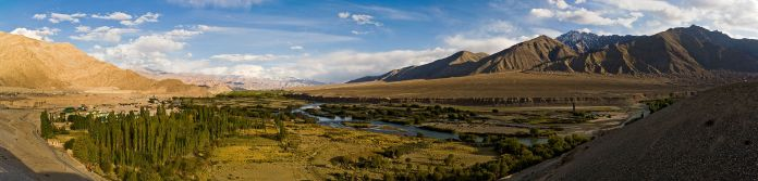 The Indus valley near Leh