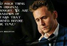 Tom Hiddleston Quotes, Image by Tom Hiddleston