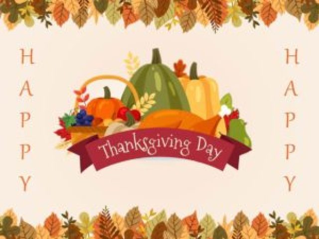 Happy Thanksgiving Friends