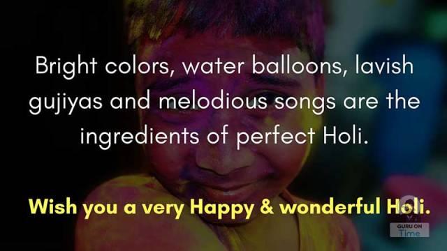 Happy Holi 2020 Wishes photos