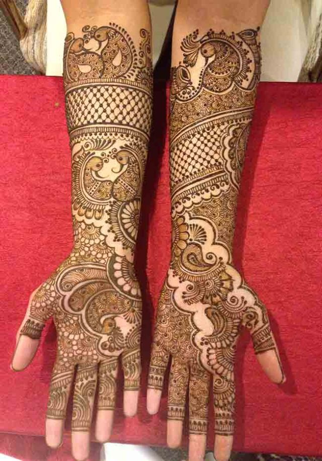 Indian mehndi designs simple