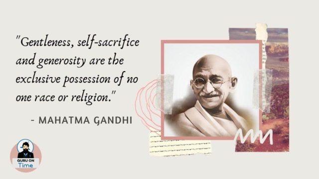 Famous Mahatma Gandhi Quotes