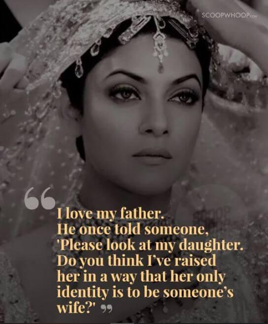 Sushmita Sen inspirational quotes 12