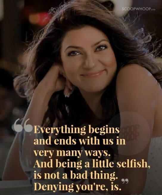 Sushmita Sen inspirational quotes 19