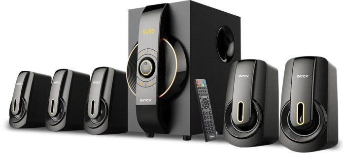Intex Portable Bluetooth Home Audio Speaker