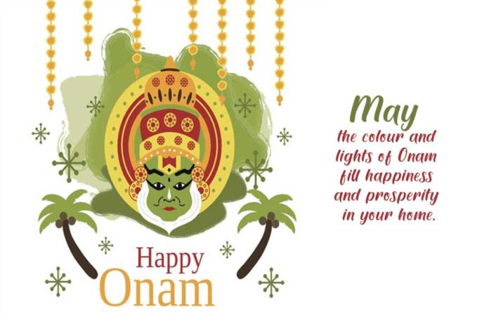happy onam status wishes